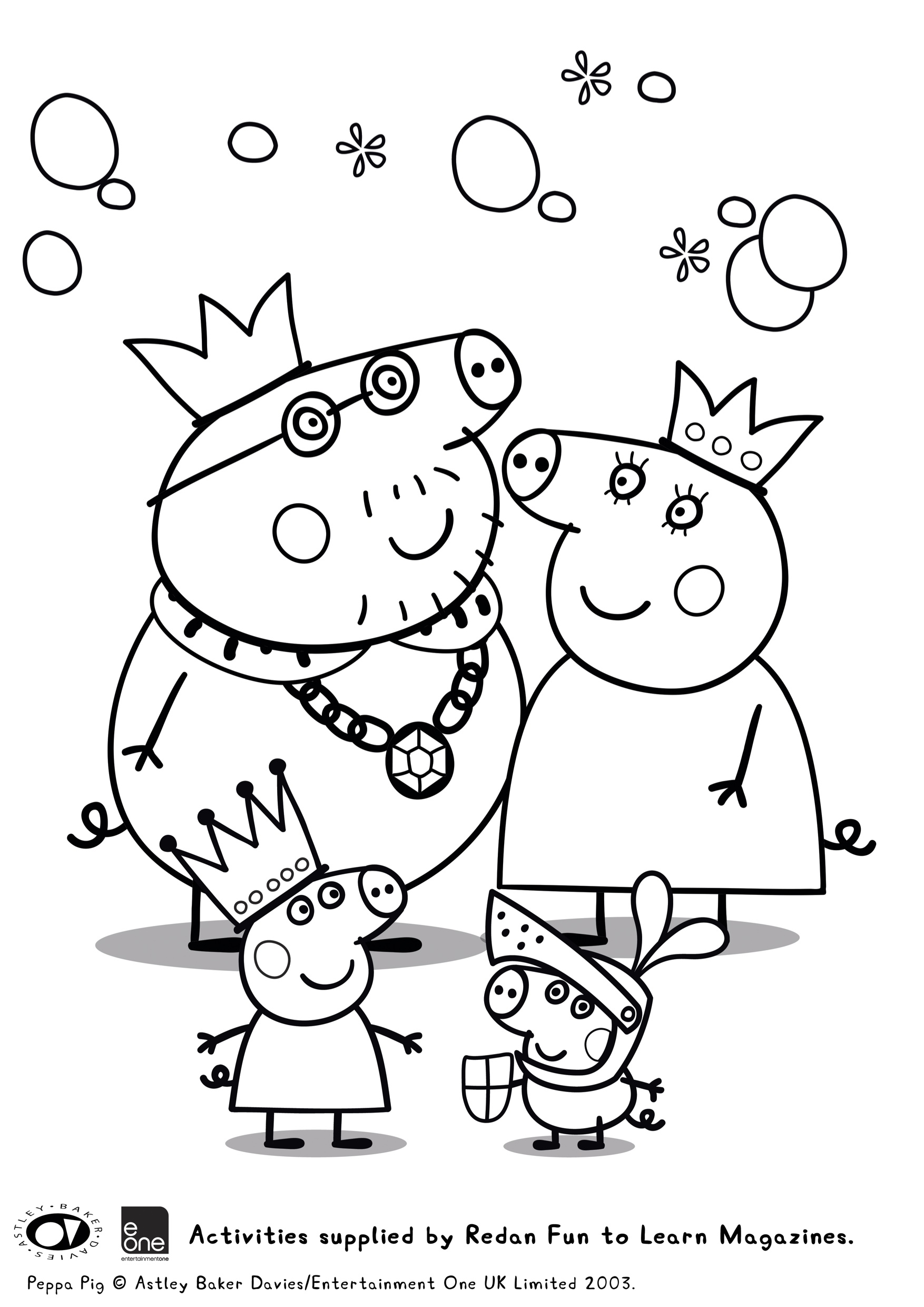 Peppa Pig Colouring In Printables Plus Huge Peppa Pig Prize Pack Giveaway