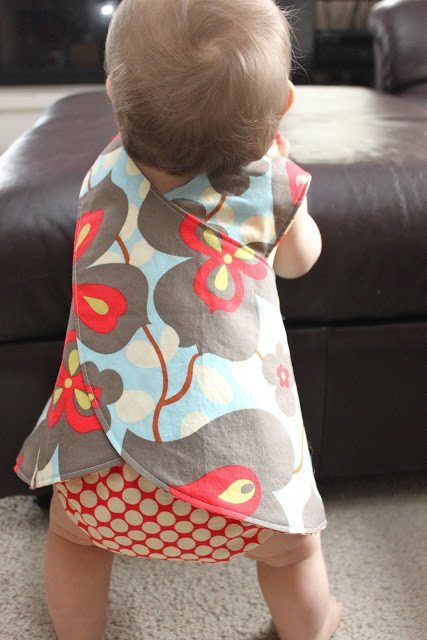 Baby girl crossover pinafore pattern free free baby clothes patterns, Mums Make Lists