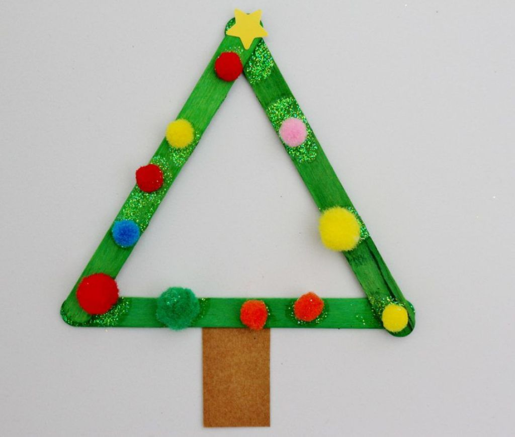 Lolly Sticks Christmas craft
