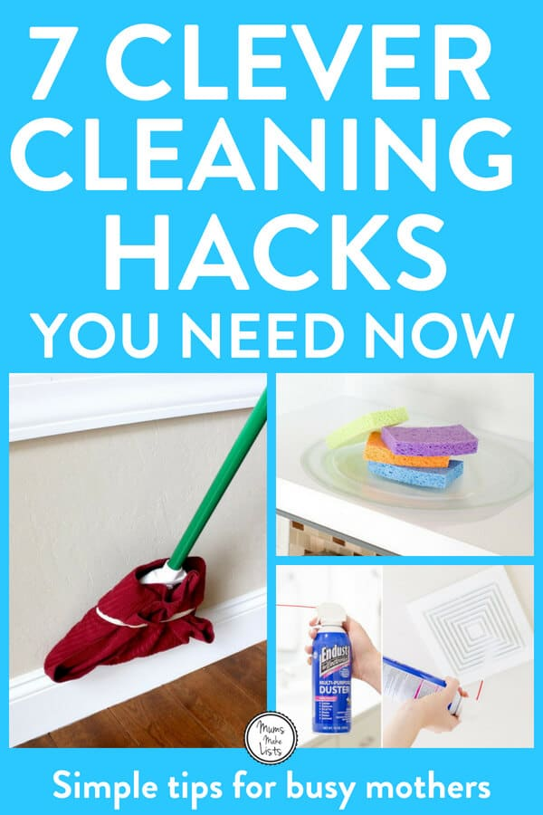 7 Clever cleaning hacks you need for your home #Cleaning #CleaningHack