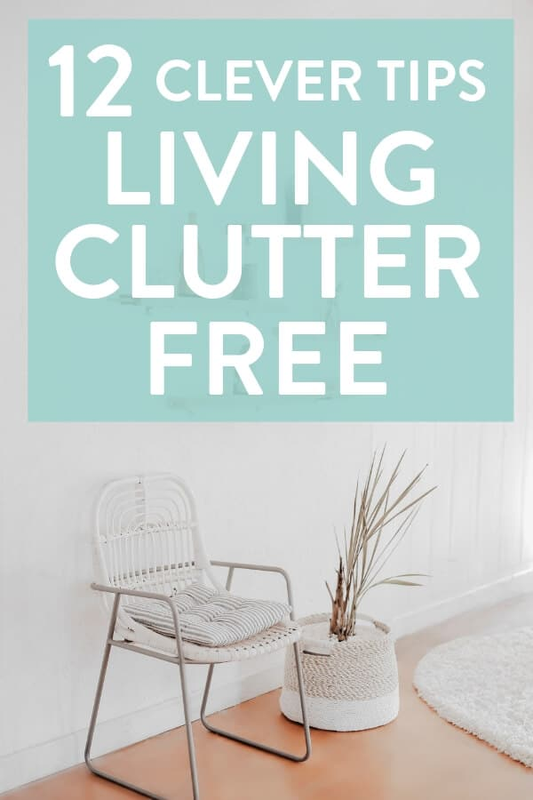 Declutter tips - our favourite declutter tips for decluttering your house, keeping it decluttered and living clutter free #clutter #clutterfree #clutterfreehome #clutterhelp #cluttertips #simpleliving #simplelife #minimalism #minimalist #declutter #declutteringtips