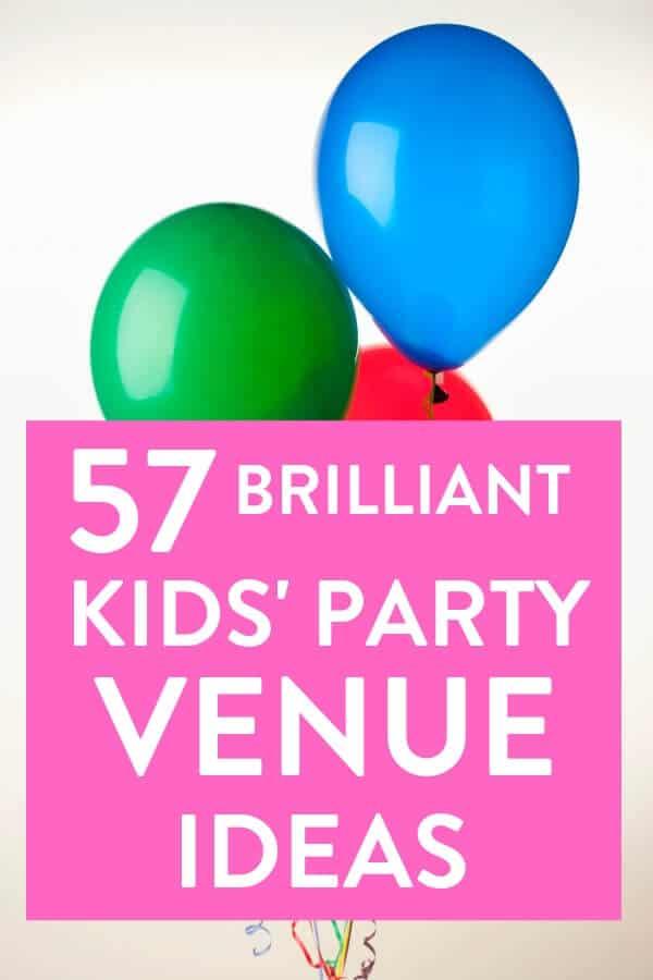 Kids' birthday party venue idea, kids party planning, party venue, venues for parties, kids party ideas
