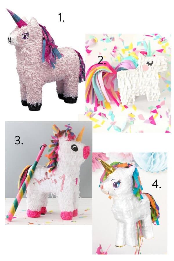 Unicorn pinata, unicorn theme party, kids party