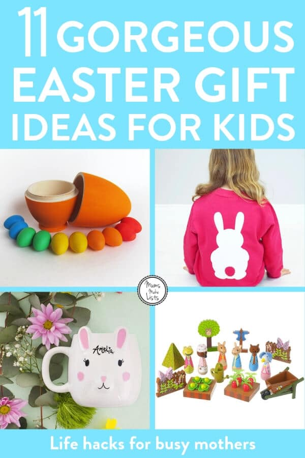 Easter, non-chocolate Easter gift ideas for kids, Easter gift ideas for kids, Easter gifts