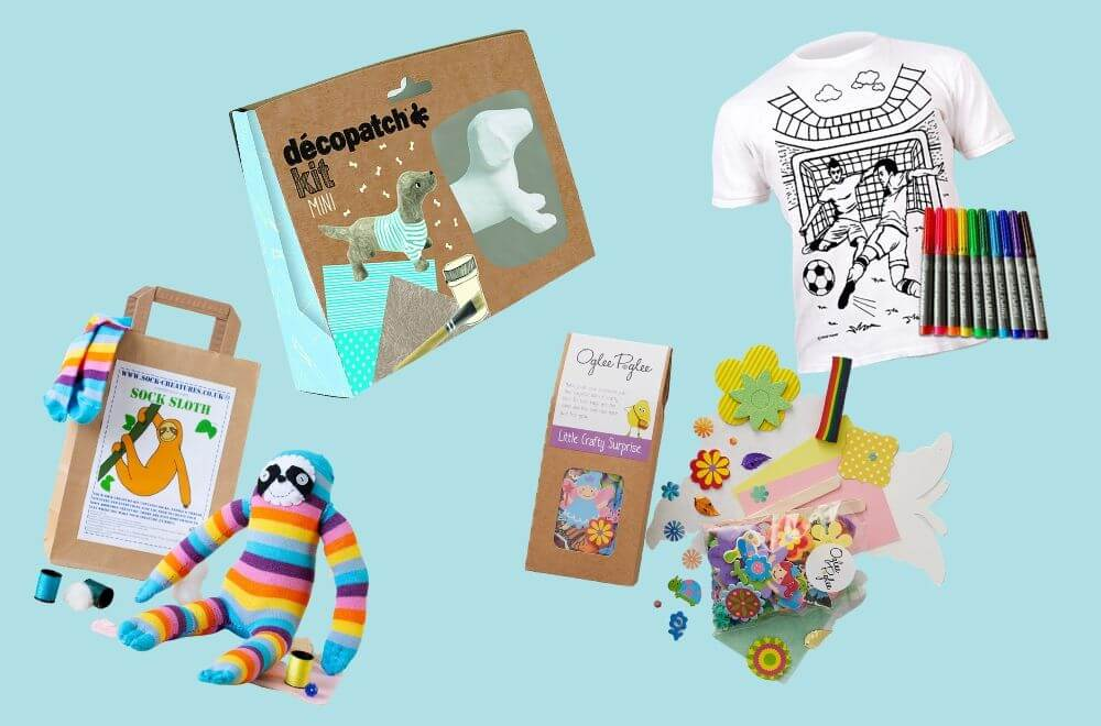THE BEST CRAFT KITS FOR KIDS' PARTY, craft kits for kids party, craft party favours, craft party ideas, how to plan kids' craft party