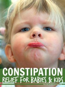 Constipation relief for babies and kids ... loads of helpful natural tips for relieving constipation when kids get bunged up