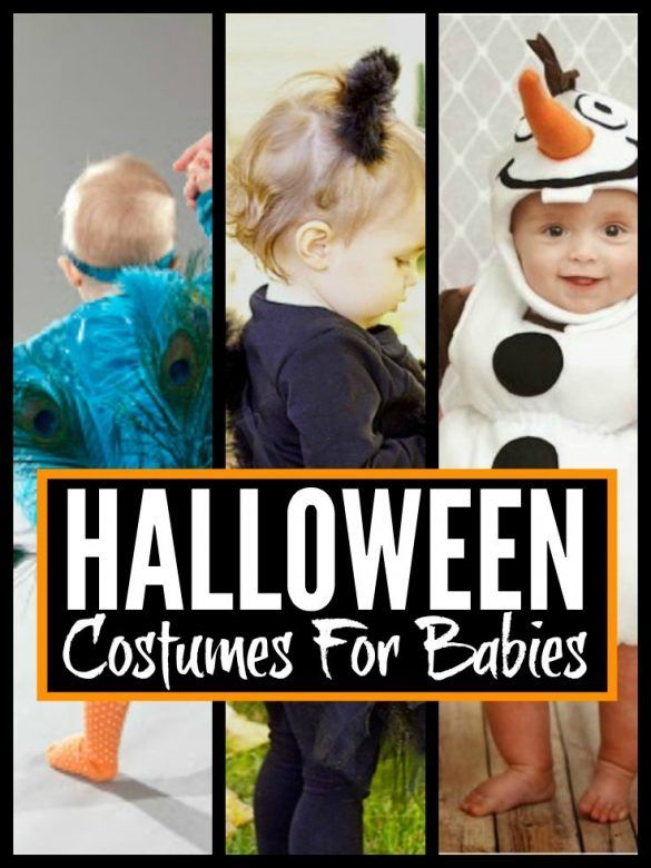 DIY Halloween costumes for baby! Yes babies enjoying their first Halloween need to have a costume that's Instagram ready! Here's a list of some great ideas for simple, easy to make costumes