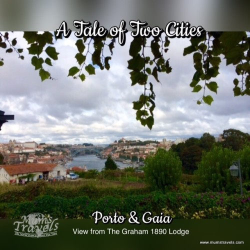 The cities of Porto & Gaia