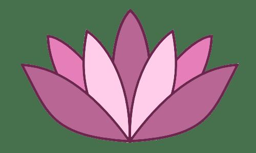 Logo Lotus Flower MuMu Yoga Kingston