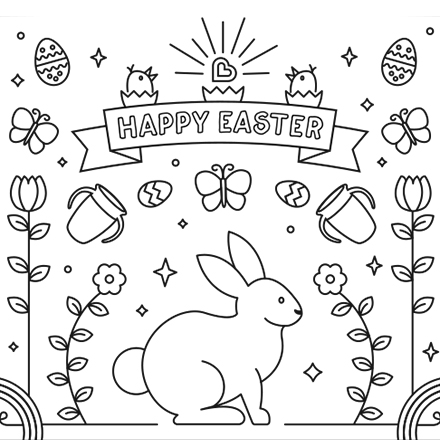 easter coloring pages free # 13