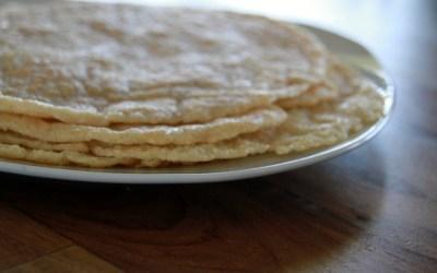 WRAPS / PANCAKES / LASAGNE SHEETS (gluten-free)