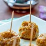 Ground Turkey and Veggie Meatballs