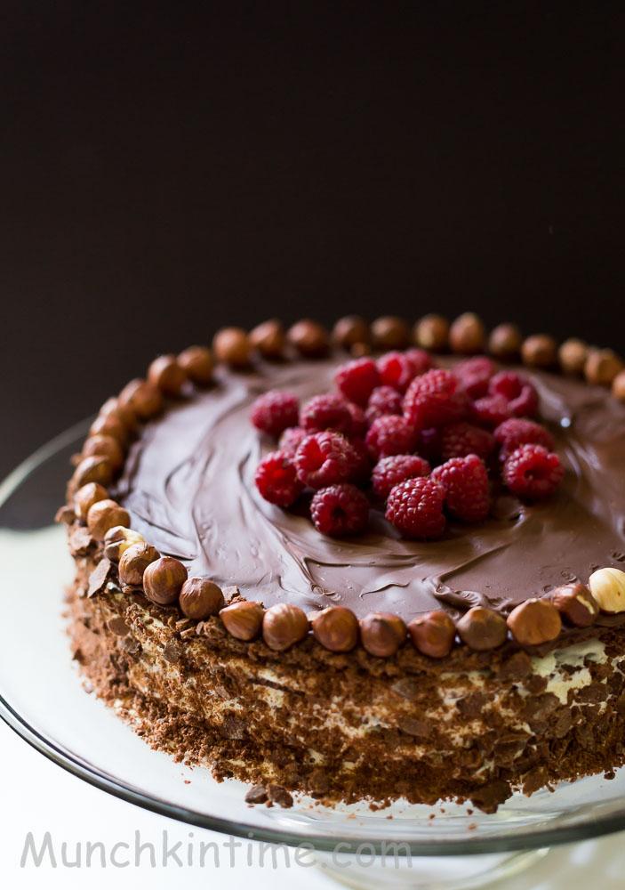 Delicate Chocolate Cake Recipe from Munchkin Time Blog #chocolatecakerecipe