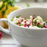 Crunchy Cucumber Radish Salad Recipe