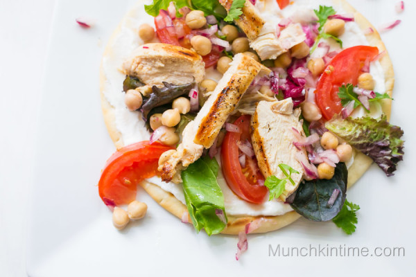 Chicken Pita Sandwich Recipe from www.munchkintime.com