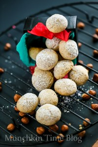 Hazelnut Cookies Recipe aka Russian Tea Cakes