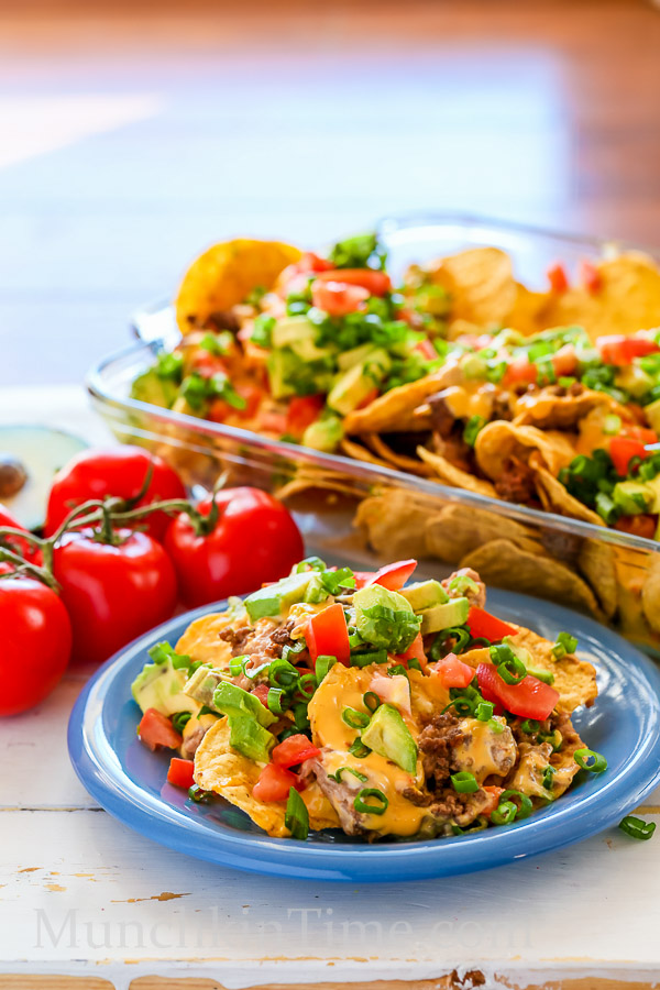 Nachos Madness Recipe Just 8 Ingredients by Munchkintime-- - www.munchkintime.com #nachos #nachosrecipe