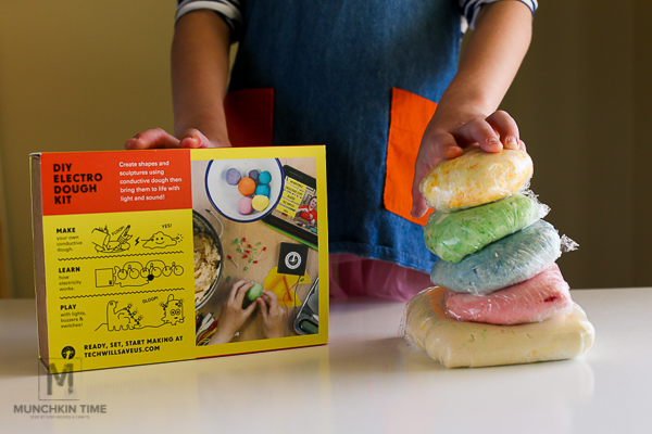 DIY Electro Dough Kit Cool Science Experiments for Kids from Timberdoodle