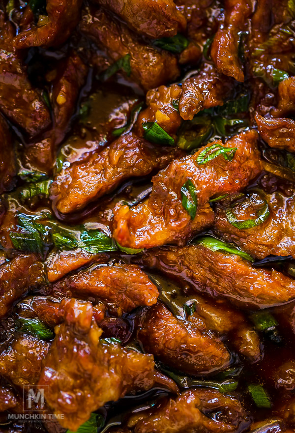 Mongolian Beef 30 Minute Recipe - Munchkin Time