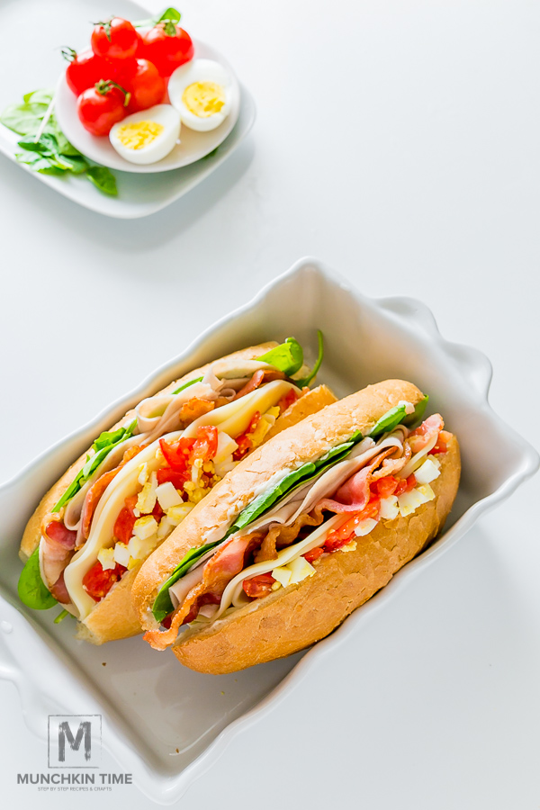 8-ingredient Hoagie Sub Sandwich Recipe For Tailgate Party
