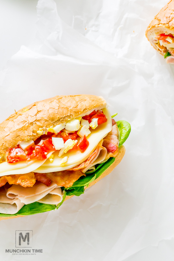 7-ingredient Hoagie Sub Sandwich Recipe For Tailgate Party