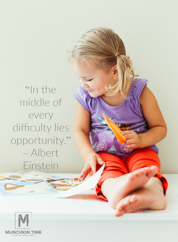"""In the middle of every difficulty lies opportunity."" – Albert Einstein"
