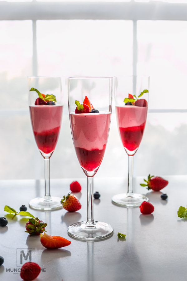 Pink Raspberry Fool No Bake Dessert Recipe For Valentines Day