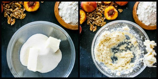 Scrumptious Peach Pie Walnut Bars Recipe - it is so GOOD!!!
