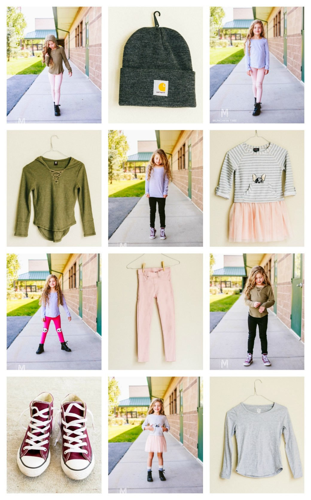 11 Back To School Outfits For Girls - Munchkin Time