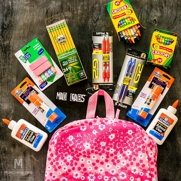 Back 2 School Supplies Haul for 2nd Grade by Munchkintime.com