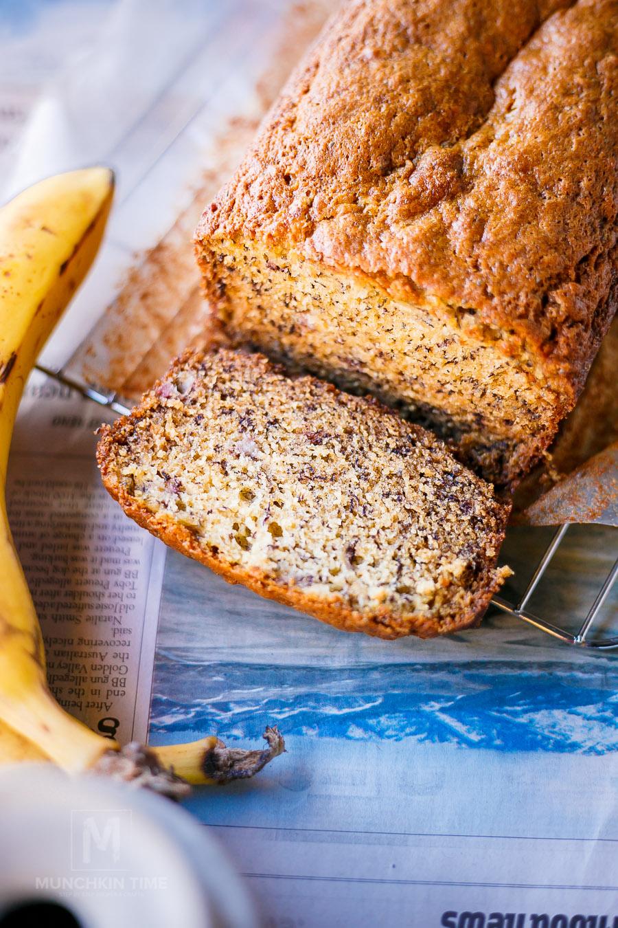 Delicious Chia Seed Banana Bread Recipe Munchkin Time