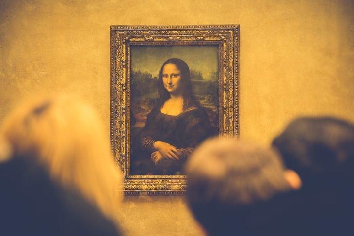 La Mona Lisa de da Vinci.