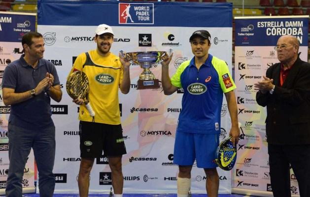 Ganadores del World Padel Tour Córdoba