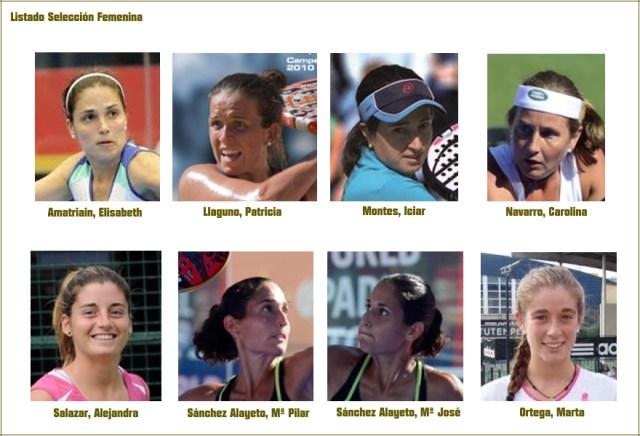 Selección Femenina de Pádel 2014