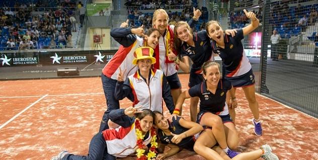 Las chicas ganan el Mundial de Pádel 2014