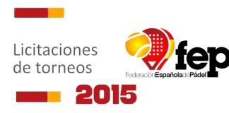 Licitaciones de la FEP 2015