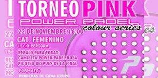 I Torneo Pink Power Padel