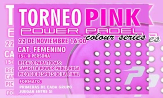 I Torneo Pink Power Padel