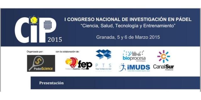 I Congreso de Investigación en Pádel 2015