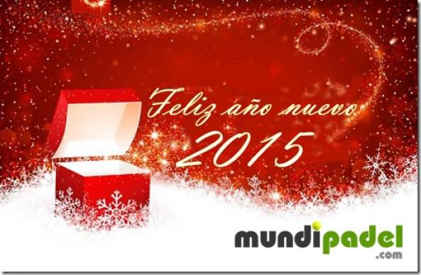 Feliz 2015 Mundipadel