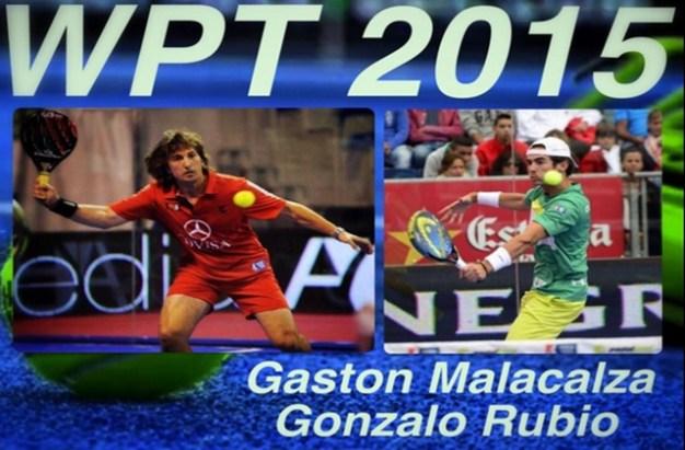 Gonzalo Rubio y Gastón Malacalza pareja 2015
