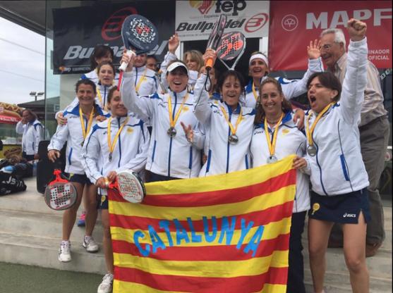 Ganadoras Cto. España Absoluto de veteranos por CCAA