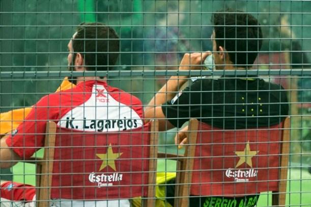 Sergio Alba y Kike Lagarejos se separan