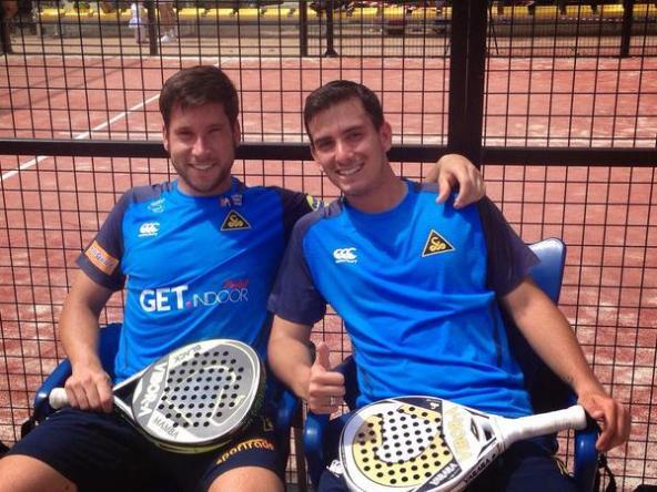 Juan Belluati y Nacho Gadea, nueva pareja