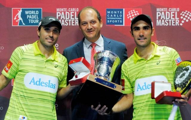 Ganadores World Padel Tour 2015 Monte-Carlo