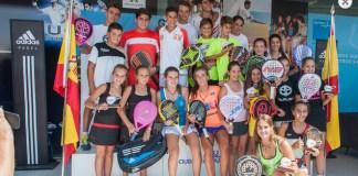 Marta Ortega entre las ganadoras del Cto Menores 2015