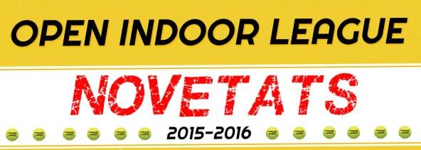 Open Indoor League Novedades 2015-2016