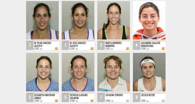 Ranking WPT femenino 2015
