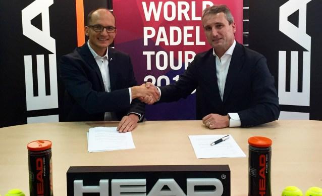 Acuerdo entre HEAD y World Padel Tour