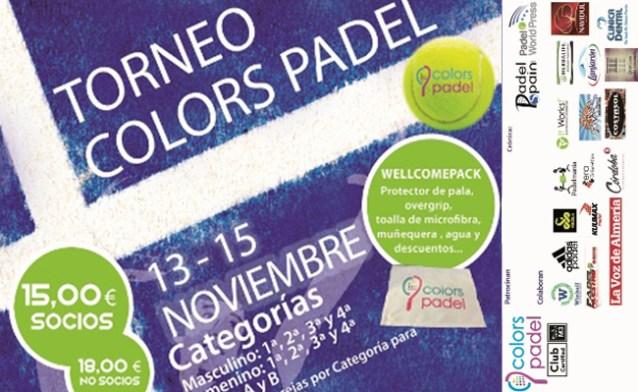 III Torneo Colors Padel 2015